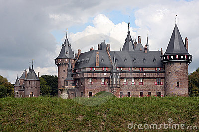 Kasteel de Haar Editorial Stock Photo