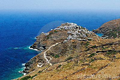 Kastro village on Sifnos