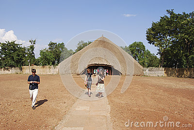 Kasubi Tombs Uganda Editorial Image