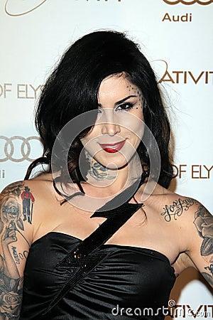 Kat Von D, Editorial Photo