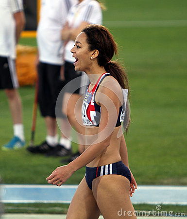 Katarina Johnson-Thompson from Great Britain Editorial Photography