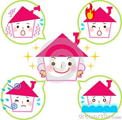 Katastrofy odporny domowy