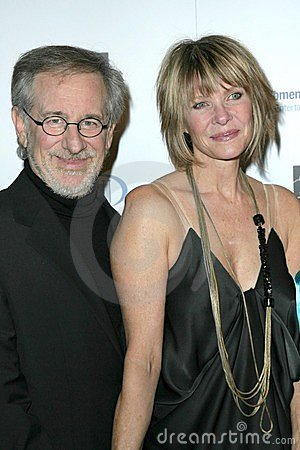 Kate Capshaw, Steven Spielberg Editorial Stock Photo