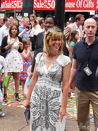 Kate Garraway at Toy Story 3 Premiere
