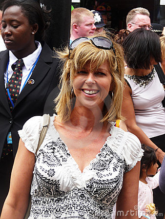 Kate Garraway at Toy Story 3 Premiere Editorial Stock Image