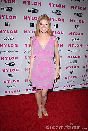 Kate Lang Johnson at the NYLON Magazine s May Issue Young Hollywood Launch Party, Roosevelt Hotel, Hollywood, CA. 05-12-10 Editorial Stock Photo