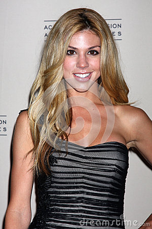 Kate Mansi arrives at the ATAS Daytime Emmy Awards Nominees Reception Editorial Stock Image