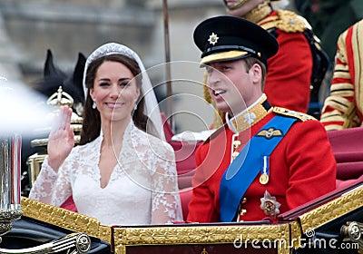 Kate Middleton,Prince William Editorial Stock Photo
