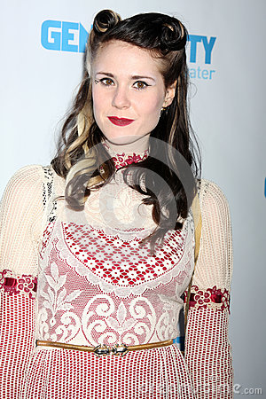 Kate Nash arrives at the 4th Annual Night of Generosity Gala Event Editorial Image