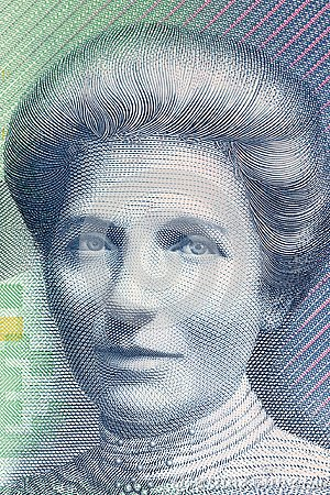 Free Kate Sheppard A Portrait Royalty Free Stock Images - 113968569