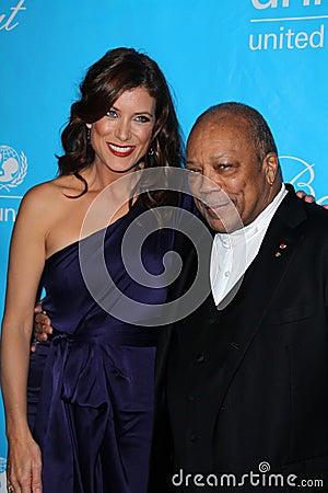 Kate Walsh, Quincy Jones Editorial Photo