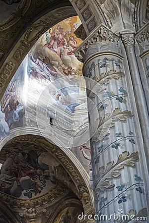 Katedra Asti, wnętrze