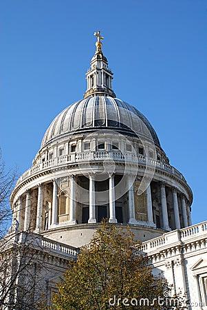 Katedralny London pauls st