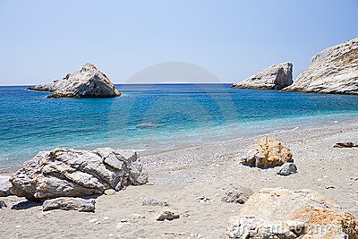 Katergo Beach, Folegandros Island