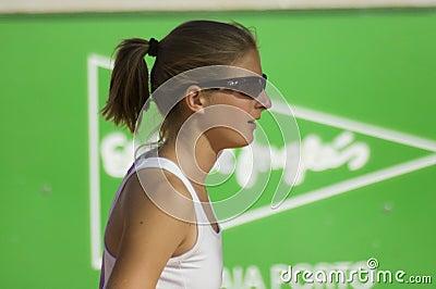 Katerina Vankova Oporto Open Final Editorial Image