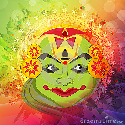 kathakali cartoons pictures illustrations - photo #36