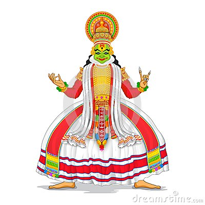 kathakali cartoons pictures illustrations -#main
