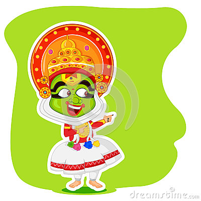 kathakali cartoons pictures illustrations - photo #26