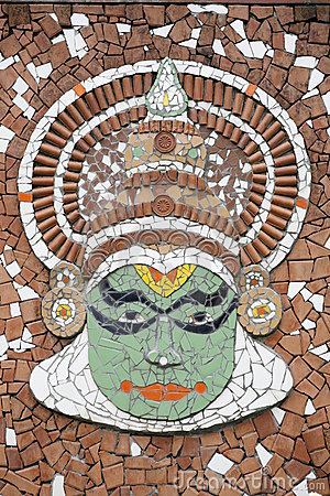 Kathakali mural