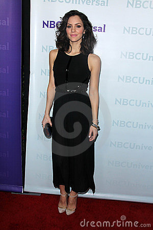 Katharine McPhee at the NBCUNIVERSAL Press Tour All-Star Party, The Athenaeum, Pasadena, CA 01-06-12 Editorial Image