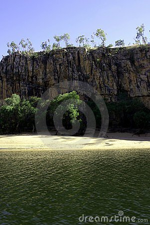 Katherine Gorge beach