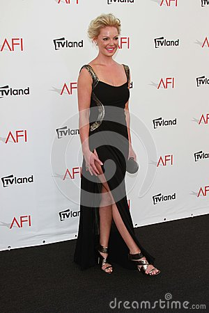 Katherine Heigl at the AFI Life Achievement Award Honoring Shirley MacLaine, Sony Pictures Studios, Culver City, CA 06-07-12 Editorial Stock Image