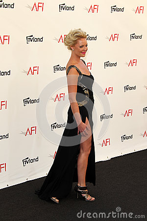 Katherine Heigl arriving at the AFI Life Achievement Award Honoring Shirley MacLaine Editorial Photo
