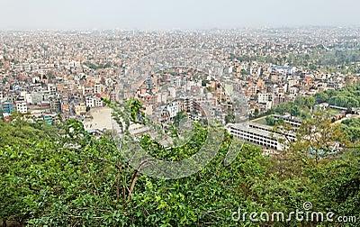 Kathmandu city view, nepal