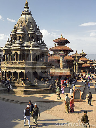 Kathmandu - Durbar Square - Nepal Editorial Photography