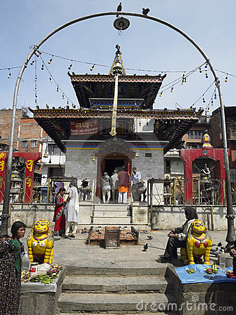 Kathmandu - Nepal Editorial Stock Image