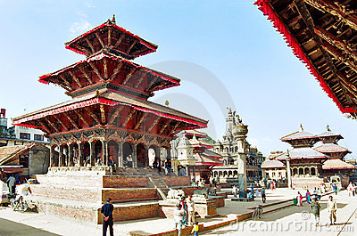 Kathmandu, Nepal Editorial Stock Photo