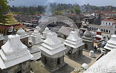 Kathmandu - Pashupatinath - Nepal Editorial Image