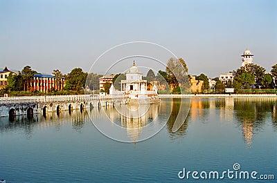 Kathmandu Queen s Pond, Nepal