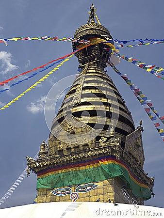 Kathmandu - Swayambhunath Stupa - Nepal