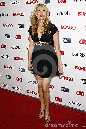 Kathryn Sherlock (The Bachelor) arriving at the OK magazine  Sexy Singles Party  Editorial Image