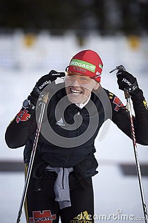 Kati Wilhelm Editorial Image