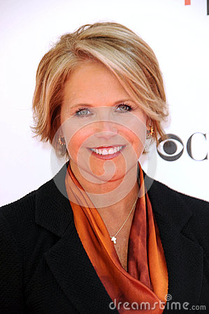 Katie Couric Editorial Stock Photo