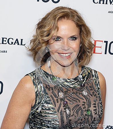 Katie Couric Editorial Image