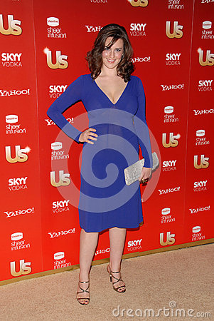 Katie Featherston,The Used Editorial Stock Image