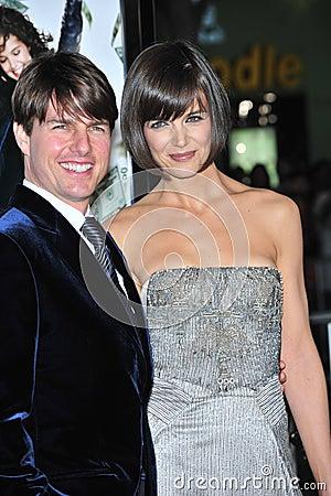 Katie Holmes, Tom Cruise Editorial Stock Photo
