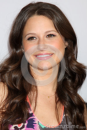 Katie Lowes arrives at the ABC / Disney International Upfronts Editorial Photo