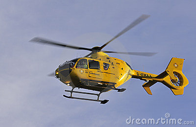 Katie, North West Air Ambulance, England Editorial Photography