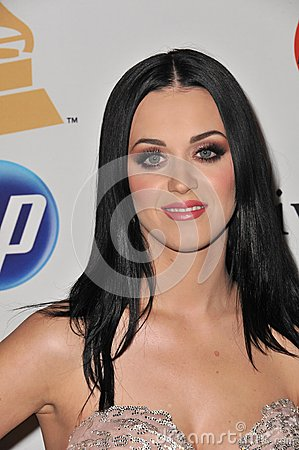 Katie Perry Editorial Stock Image