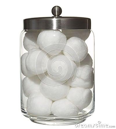 Katoenen ballen