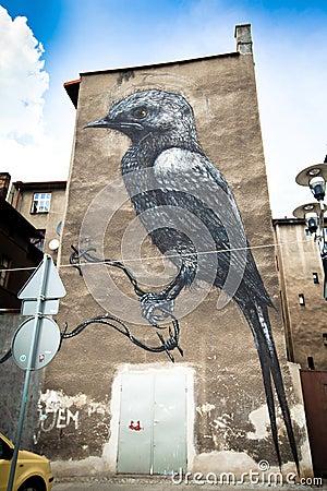 Katowice Street Art Festival Editorial Stock Photo
