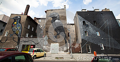 Katowice Street Art Festival Editorial Photo