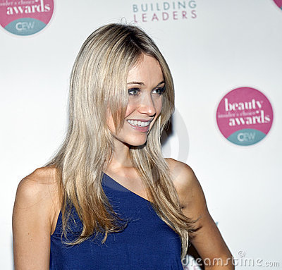 Katrina Bowden Editorial Stock Image
