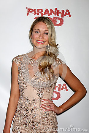 Katrina Bowden Editorial Stock Photo