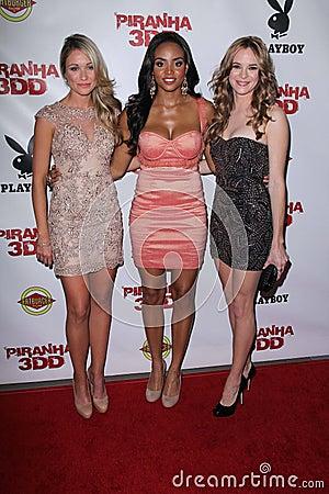 Katrina Bowden, Meagan Tandy, Danielle Panabaker at the Editorial Photo