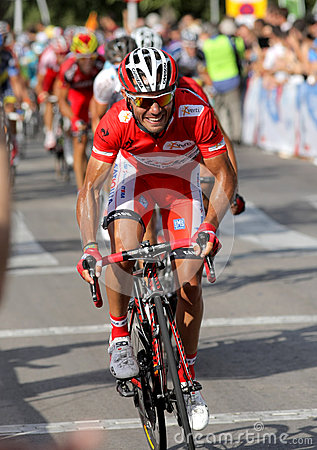 Katusha Team cyclist Joaquim Purito Rodriguez Editorial Photography